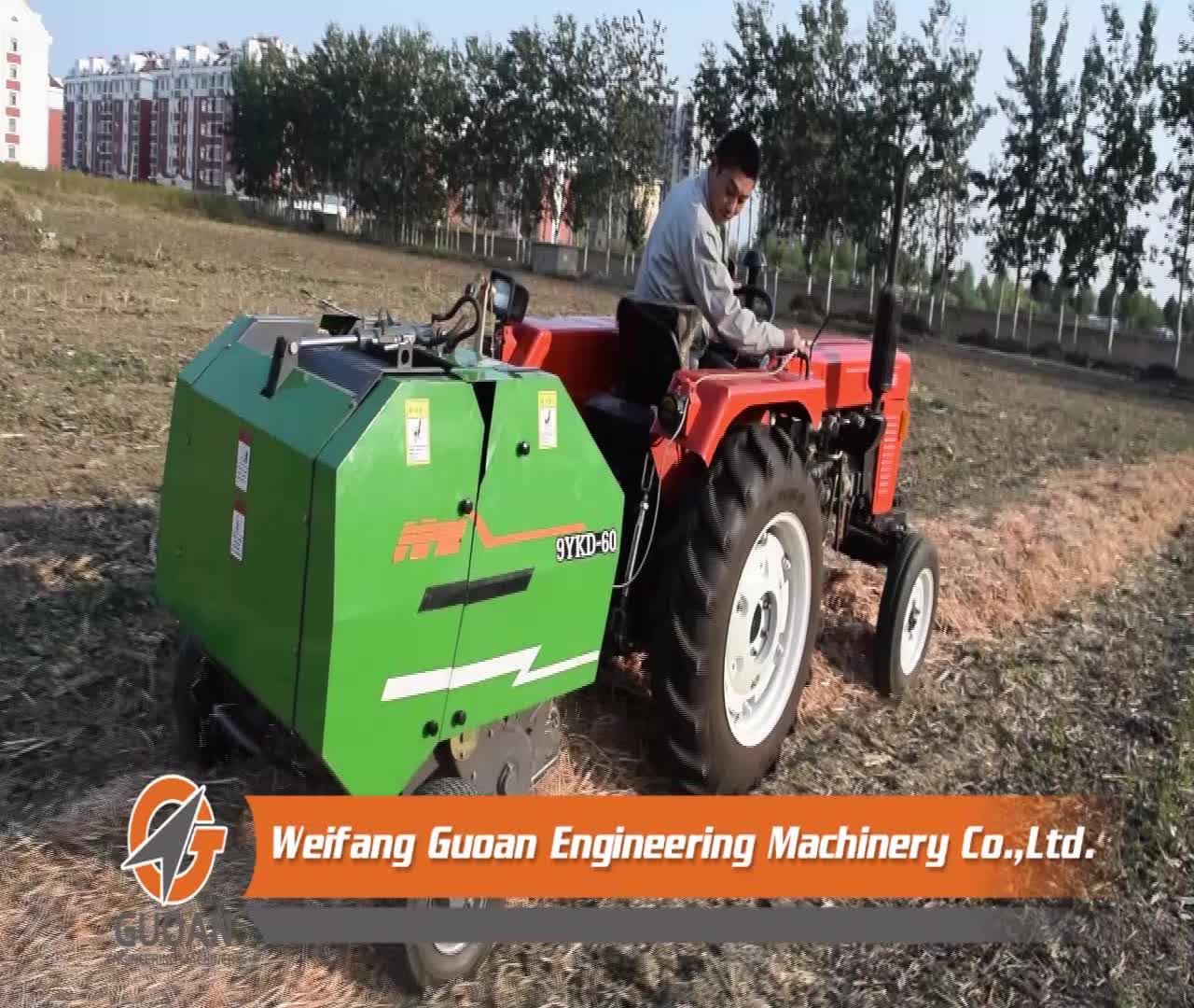 Baler máy gói ngô ủ alfafa máy đóng kiện cho trang trại sử dụng