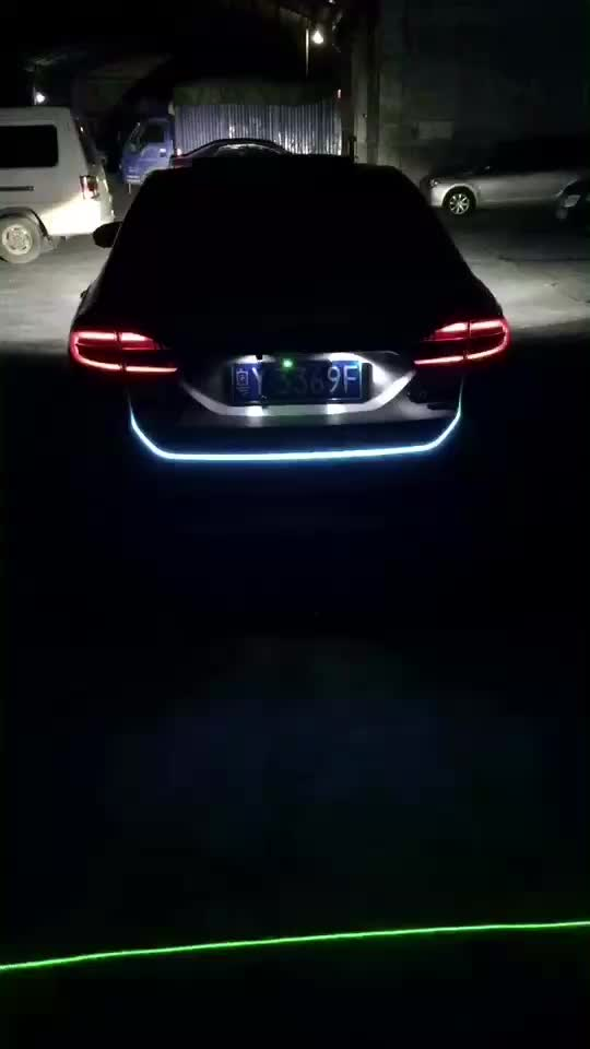 Led strip tail light bar car truck running brake reverse turn led strip tail light bar car truck running brake reverse turn signal lamp rear trunk leds mozeypictures Gallery