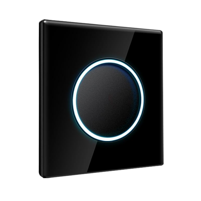 森超黑色开关插座86型双控墙壁面板质量靠谱吗
