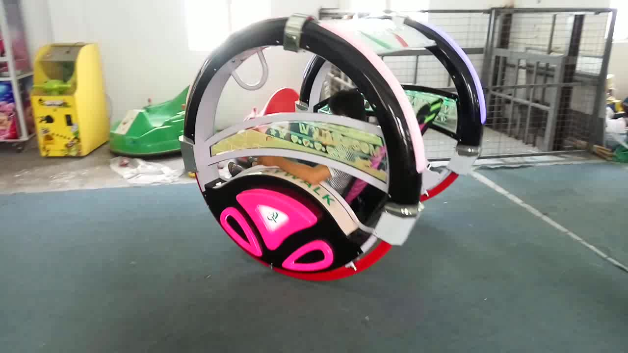Leswing Happy lebar Car Kiddie Ride Battery Electronic Happy Rolling Car for sale