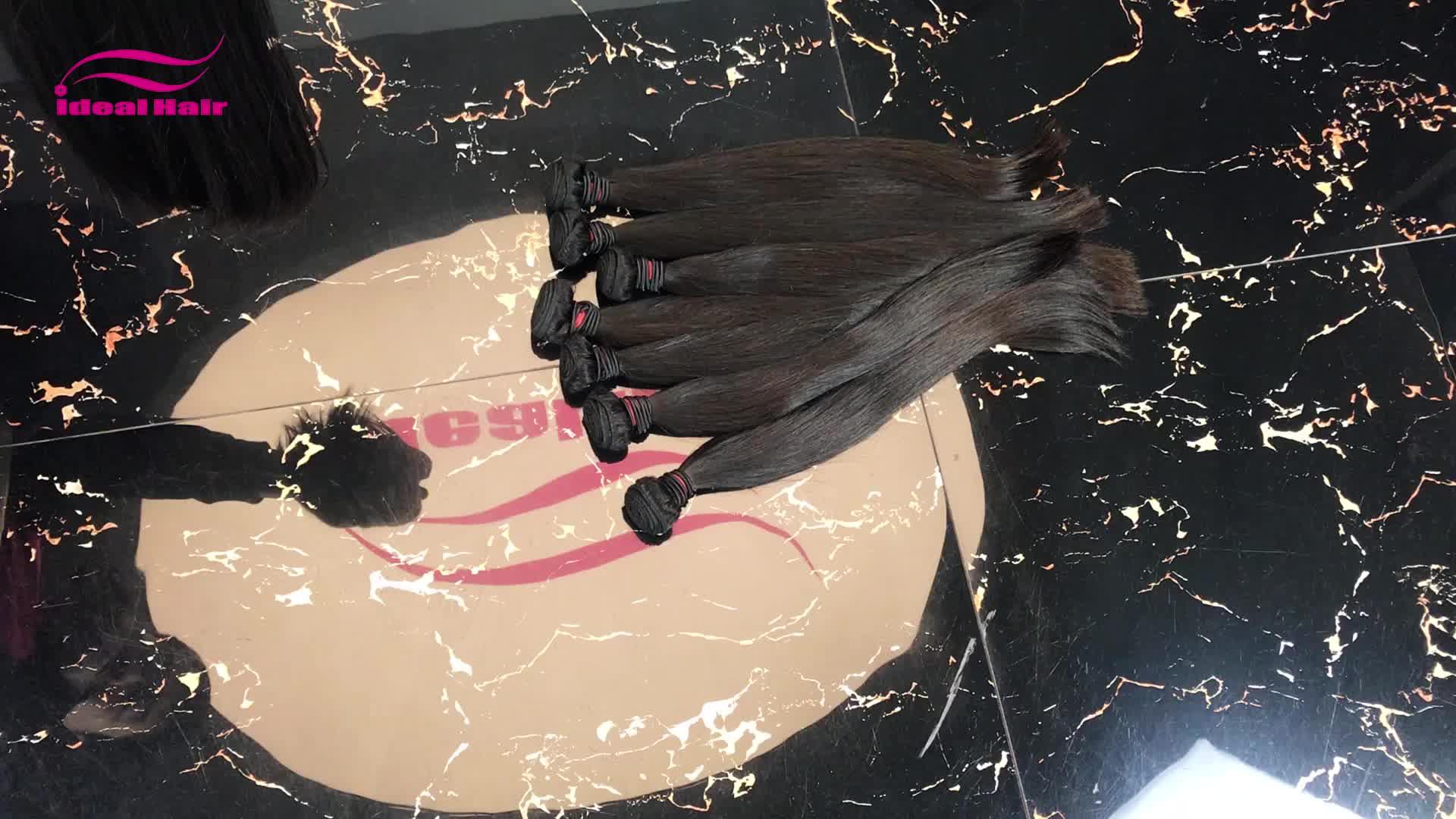 Remy reines indisches haut schuss nahtlose haar extensions, natürliche hand gebunden schuss haar verlängerung, raw indisches haar unverarbeitete reine