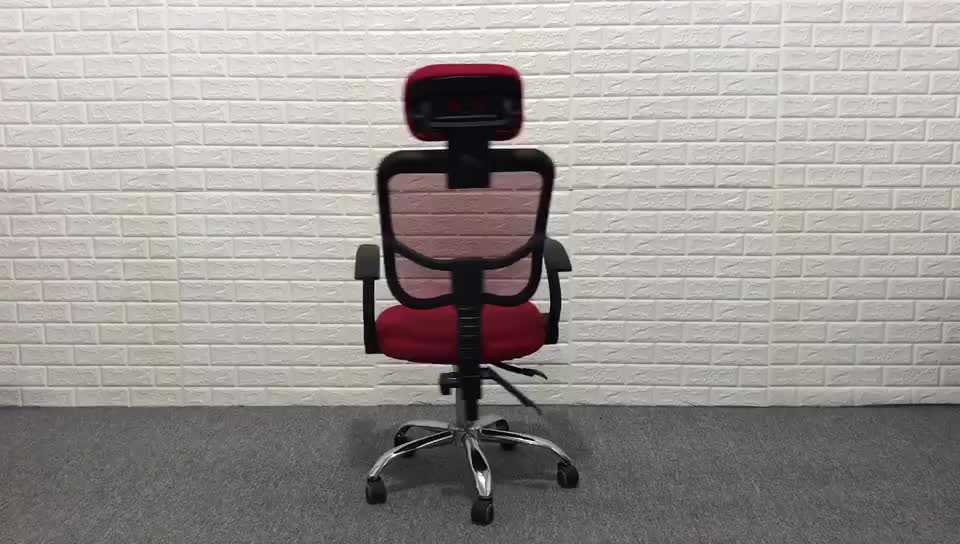 D05# Alibaba online shopping mesh back office chair with headrest