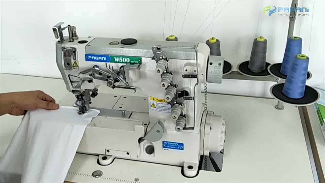 Pgn-500-01cb-d/ Flat Bed Electronic Interlock Sewing ...