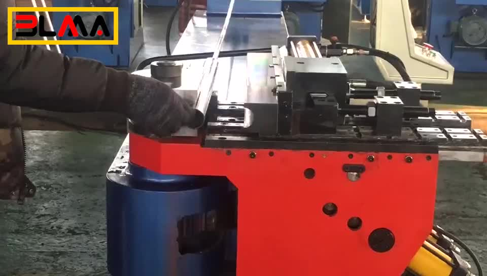 Driven 38mm arc titanium press variable round cold steering pipe &channel bend tube bending machine rectangular