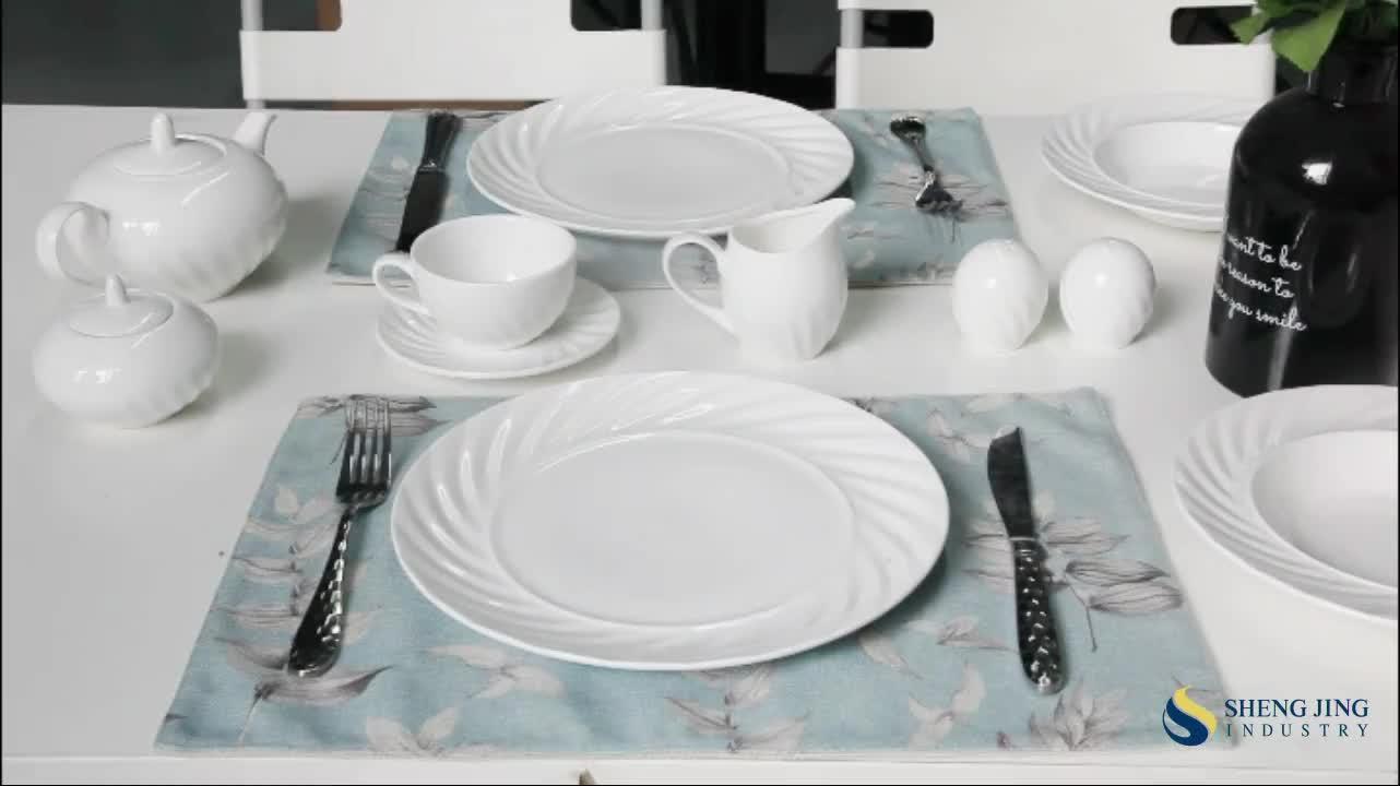 Versorgung Geschirr Hotel Küche Geschirr 100 Stück Platte Lebensmittel Restaurant