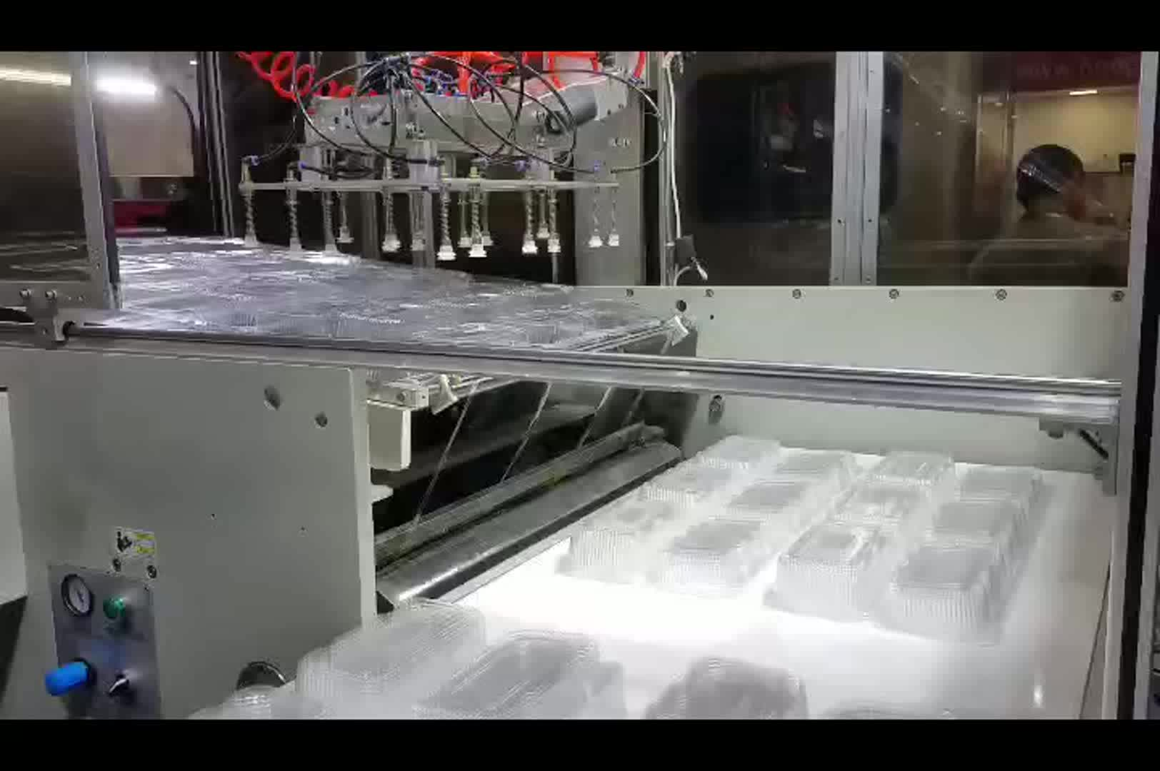 HSC-540760C Automatic plastic thermoforming machine for BOPS container