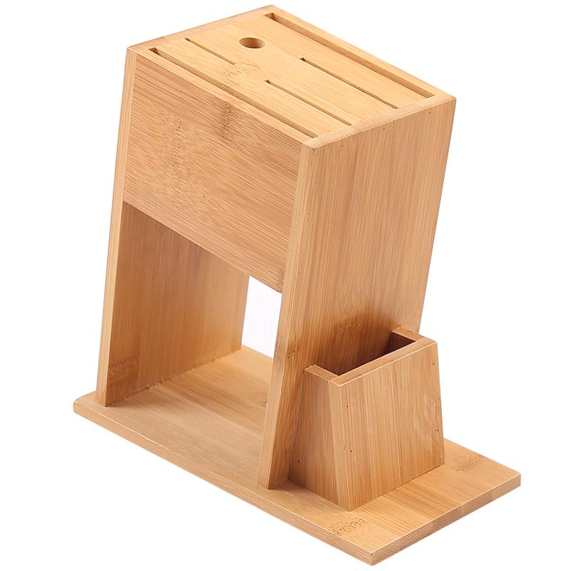 楠竹刀架刀座放刀具收纳架菜刀架置物架家用厨房用品多功能插刀架