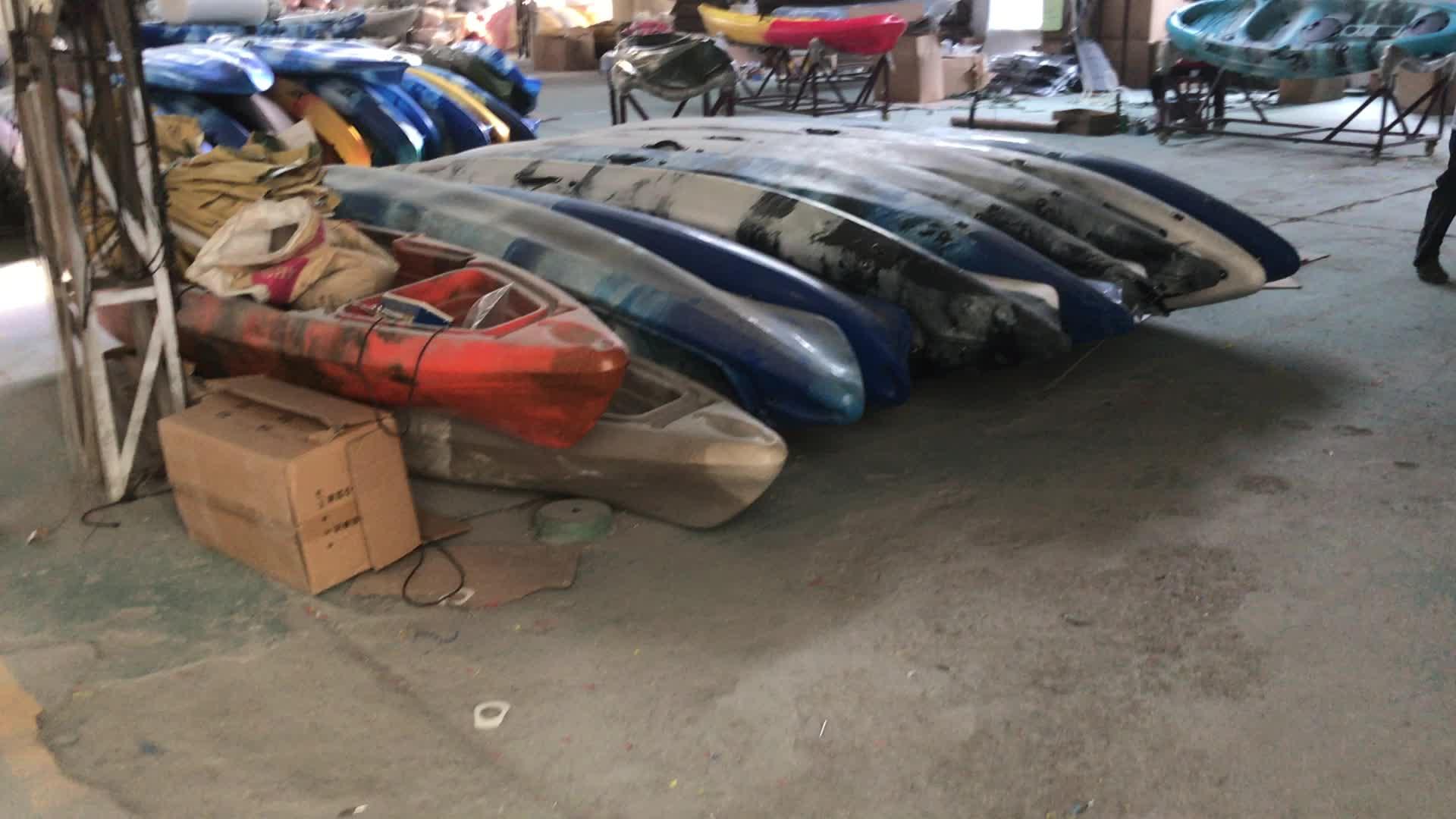 Novos caiaques acessórios projetados caiaque único assento de pesca