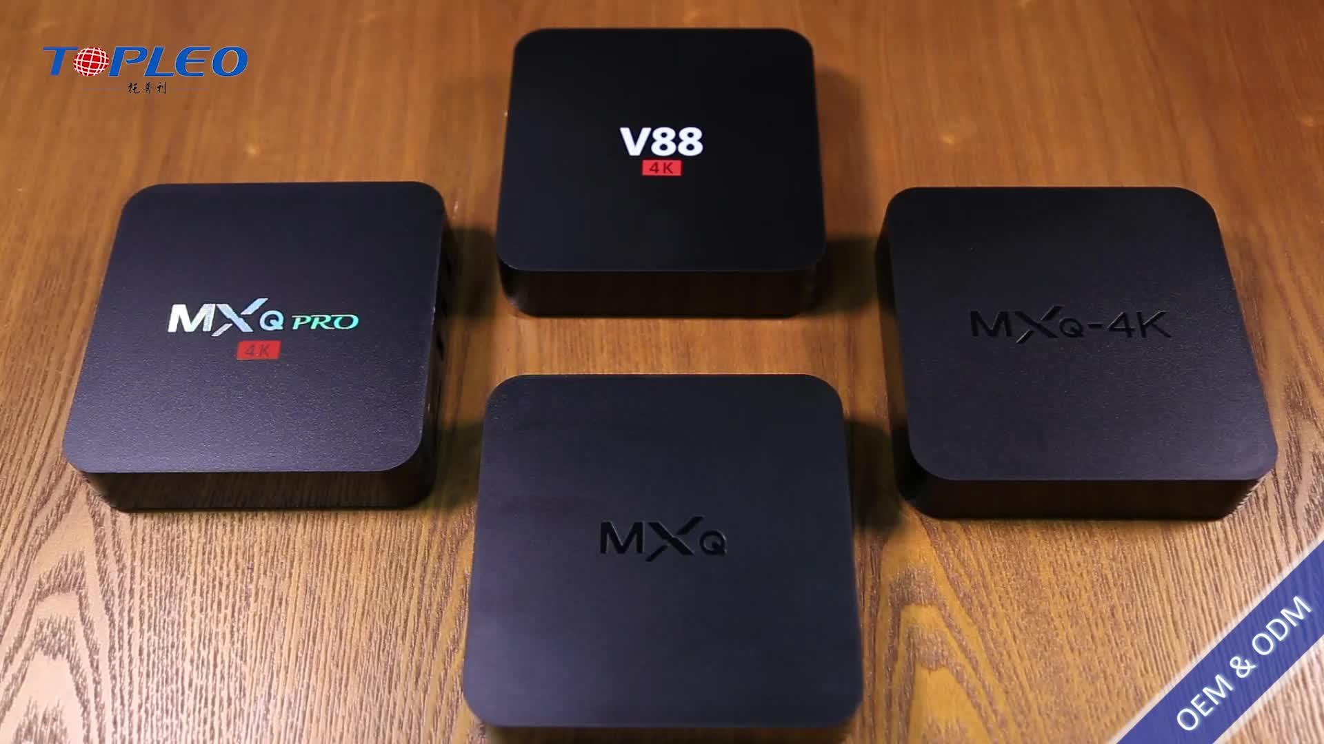 लागत प्रभावी फर्मवेयर अद्यतन एंड्रॉयड 7.1 स्मार्ट टीवी बॉक्स 4 k कस्टम लोगो के साथ सिम कार्ड स्लॉट