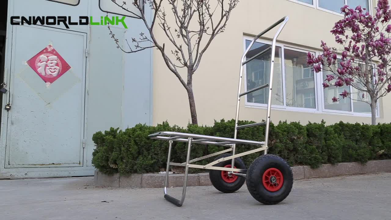 Suitable For Fishing Easy Controling Two Wheels Cart