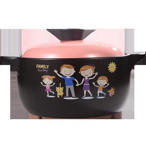 1.6L家用炖锅耐高温陶瓷砂锅