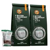 全颗粒全胚芽:虎标 原味苦荞茶 350g x2袋 42.8元包邮