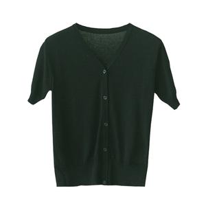 薄款针织外套v领2021新款针织衫