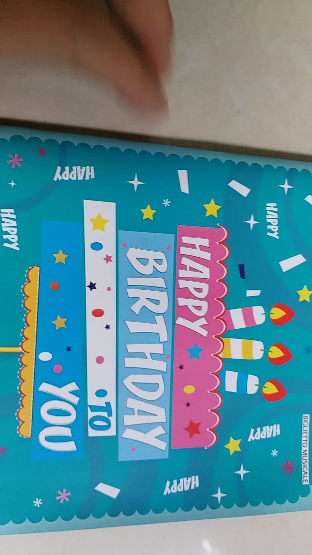 talking birthday cards custom music happy birthday card