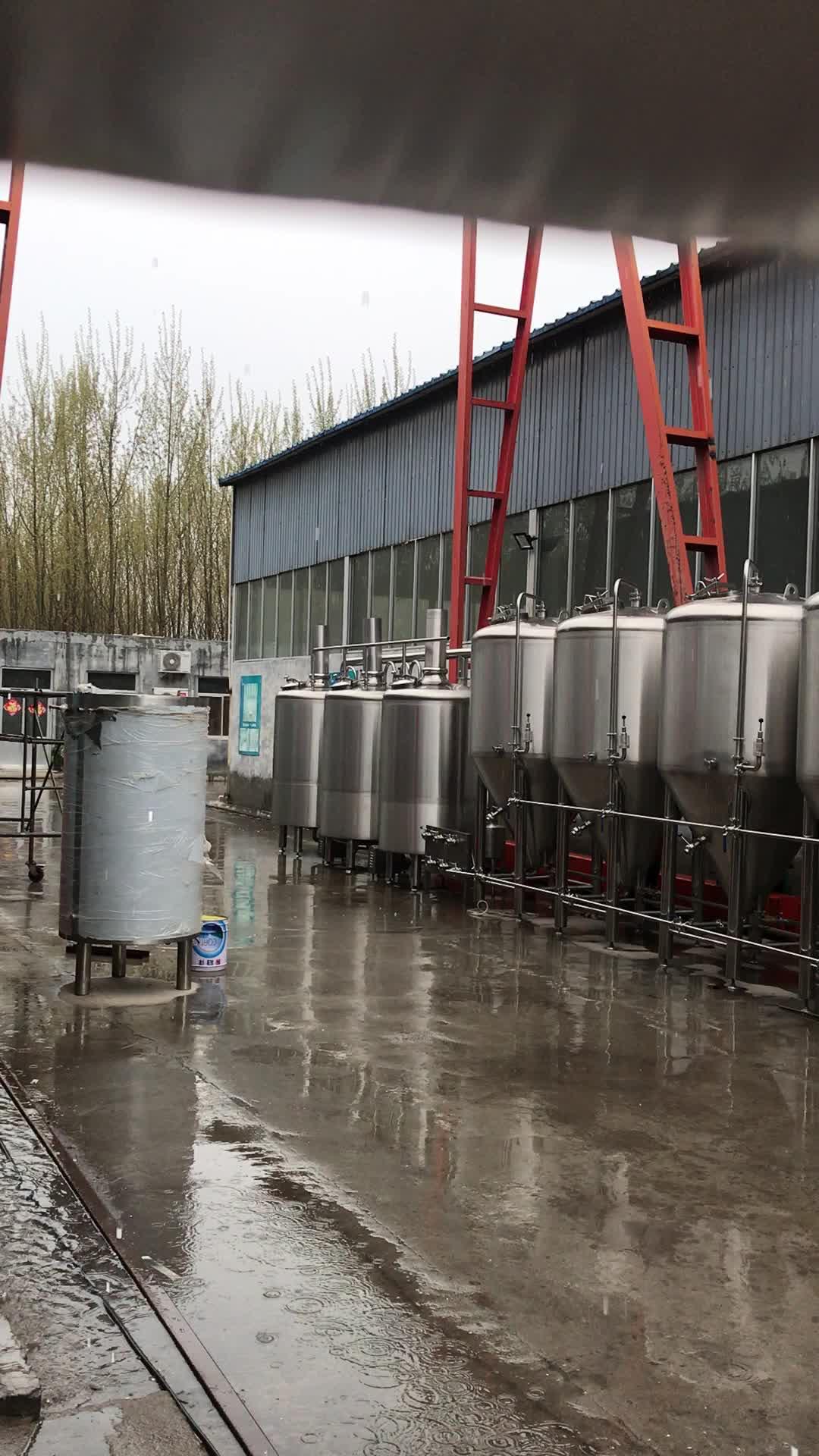 Hot sale double-wall  brite beer tank, beer serving tank, beer storage tank CE/ISO 9001:2008