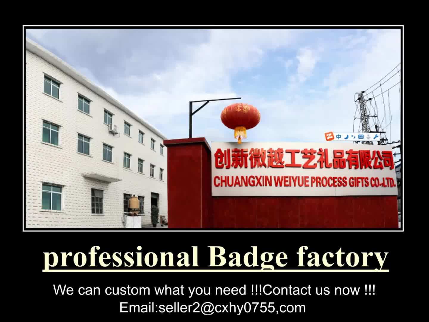 China supplier custom made 3D metal army pin badges for sale
