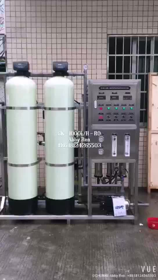 1000LPH Water Refilling Station Machine atomatic valve/RO System Plant water treatment appliances factory price