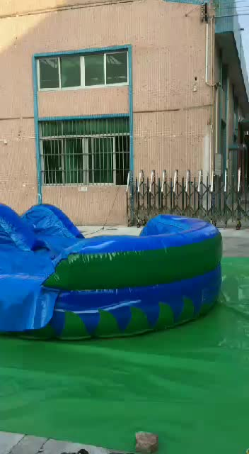 top quality 25ft  inflatable big water slides prices for sale used China