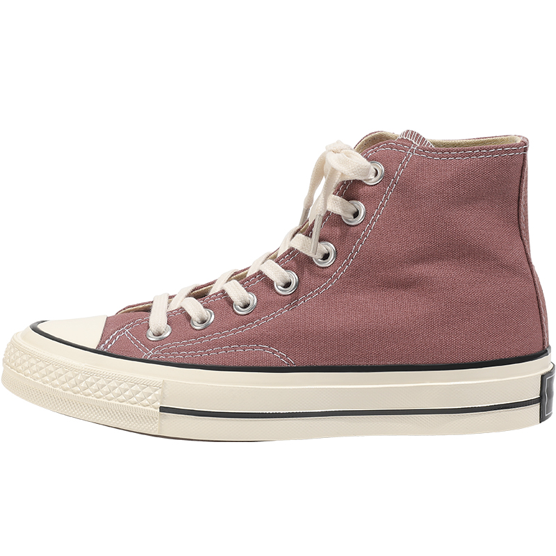 玛速主义百搭ins潮复古1970s高帮帆布鞋女2021新款平底小脏橘鞋子