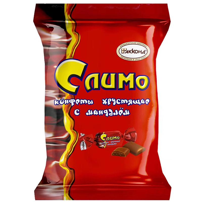 俄罗斯红皮糖正品进口原装阿孔特紫皮喜糖果夹心七夕巧克力零食品