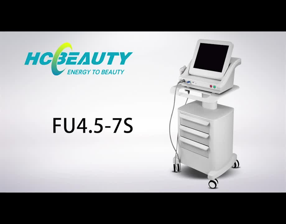 Coreia do HCBEAUTY new arrival high intensity focused ultrasound hifu portátil