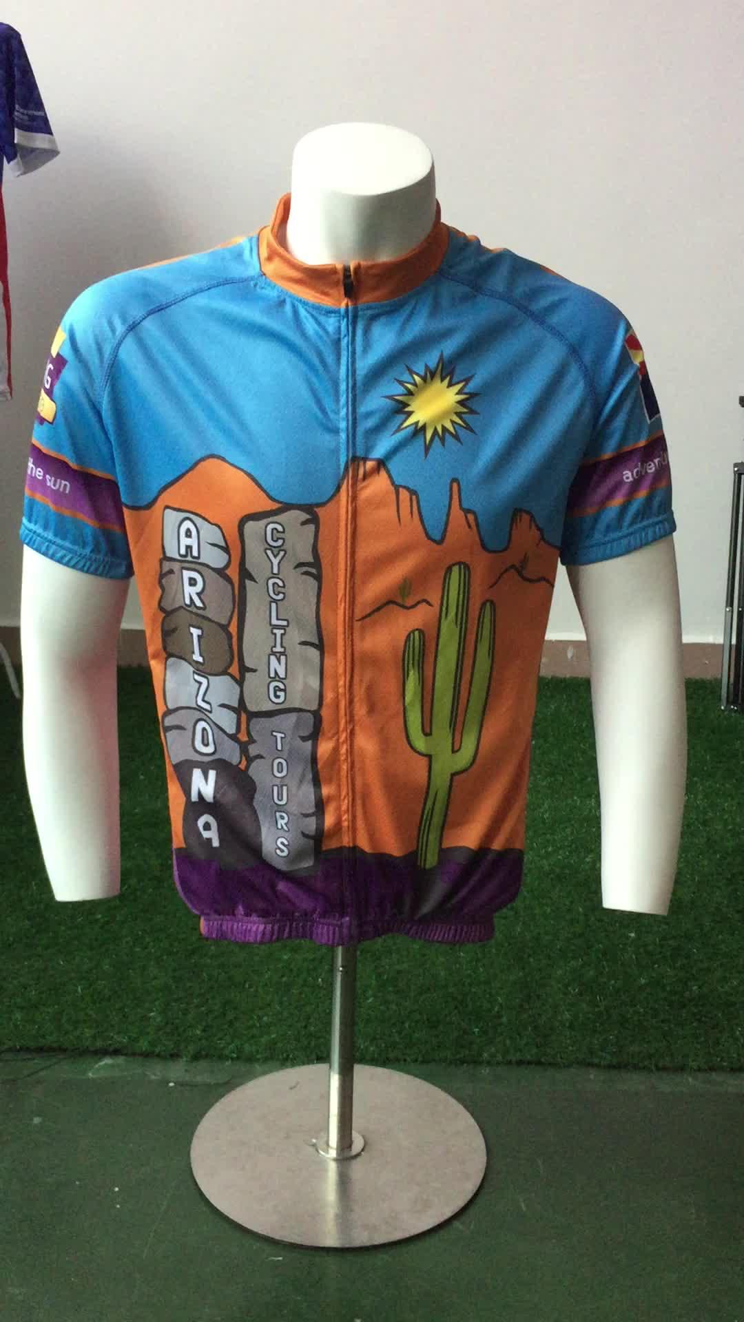 OEM Personnalisé Maillot de Cyclisme De Sublimation Cyclisme Vêtements