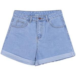 高腰牛仔夏季宽松2021年新款潮短裤