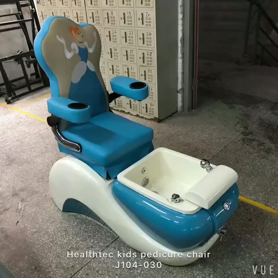 Healthtecทำเล็บมือเล็บเท้าT4สปาเก้าอี้นวดเท้าอ่าง