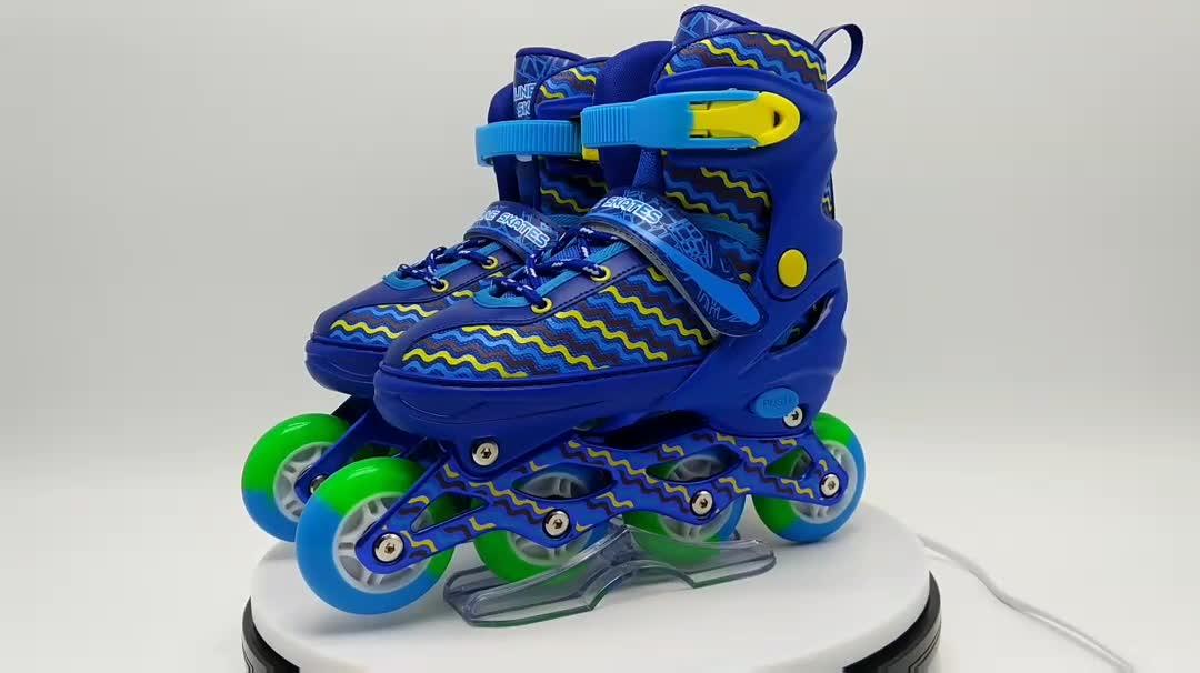 roller skate shoes for kids with wheels 4 wheels adjustable wheels skates inline led