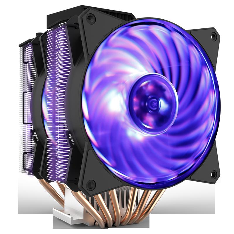 酷冷至尊T620P 6热管 双RGB风扇 双塔 台式机电脑散热器 静音