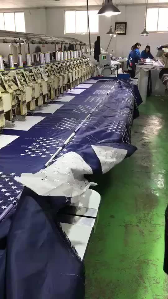 High quality POW-MIA Embroidery War Flag