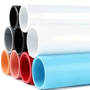 磨砂PVC背景板布淘寶攝影拍照紙直播道具純色照相證件照網紅拍攝ins擺拍牆擺件白色黑色灰色美食棚飾品架支架