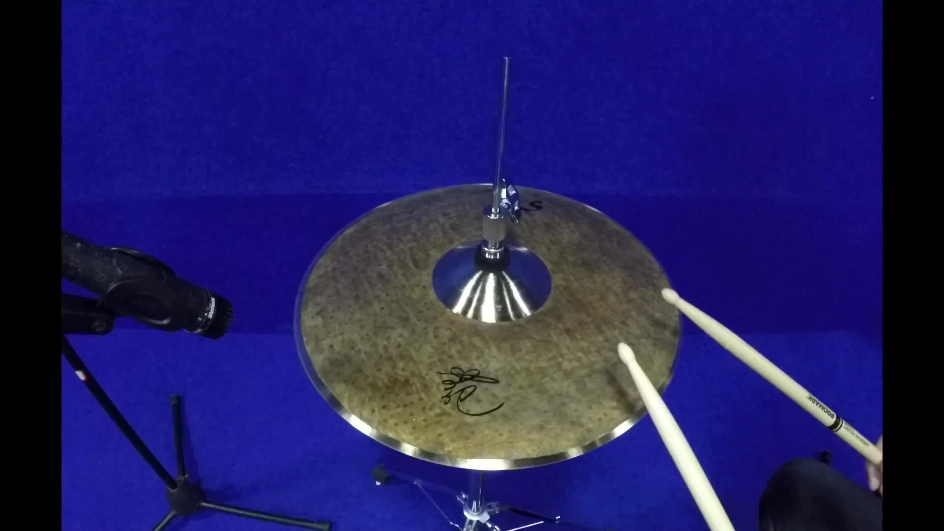 B20 chinese handmade cymbals musical Instrument splash hihats crash ride Cymbals for drum sets
