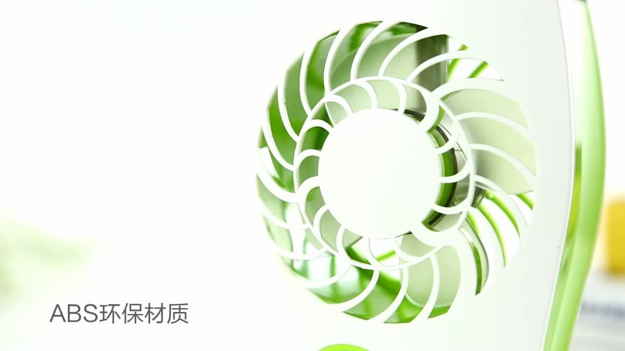 CE ROHS FCC CB SAA Rechargeable USB Portable Cool Mist Mini Fan For Promotion