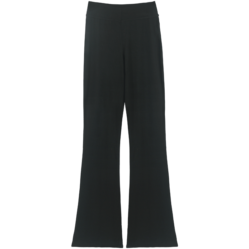 瑜伽裤女微喇叭夏季舞蹈裤练功服紧身形体薄款显瘦高腰长裤打底裤
