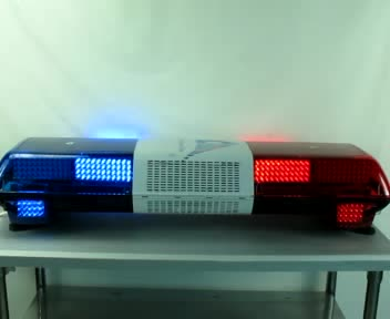 amber/blue/red/white color led waterproof memory strobe flashing emergency warning light bar for police/ambulance/fire truck