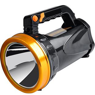 led强光可充电超亮户外手提探照灯