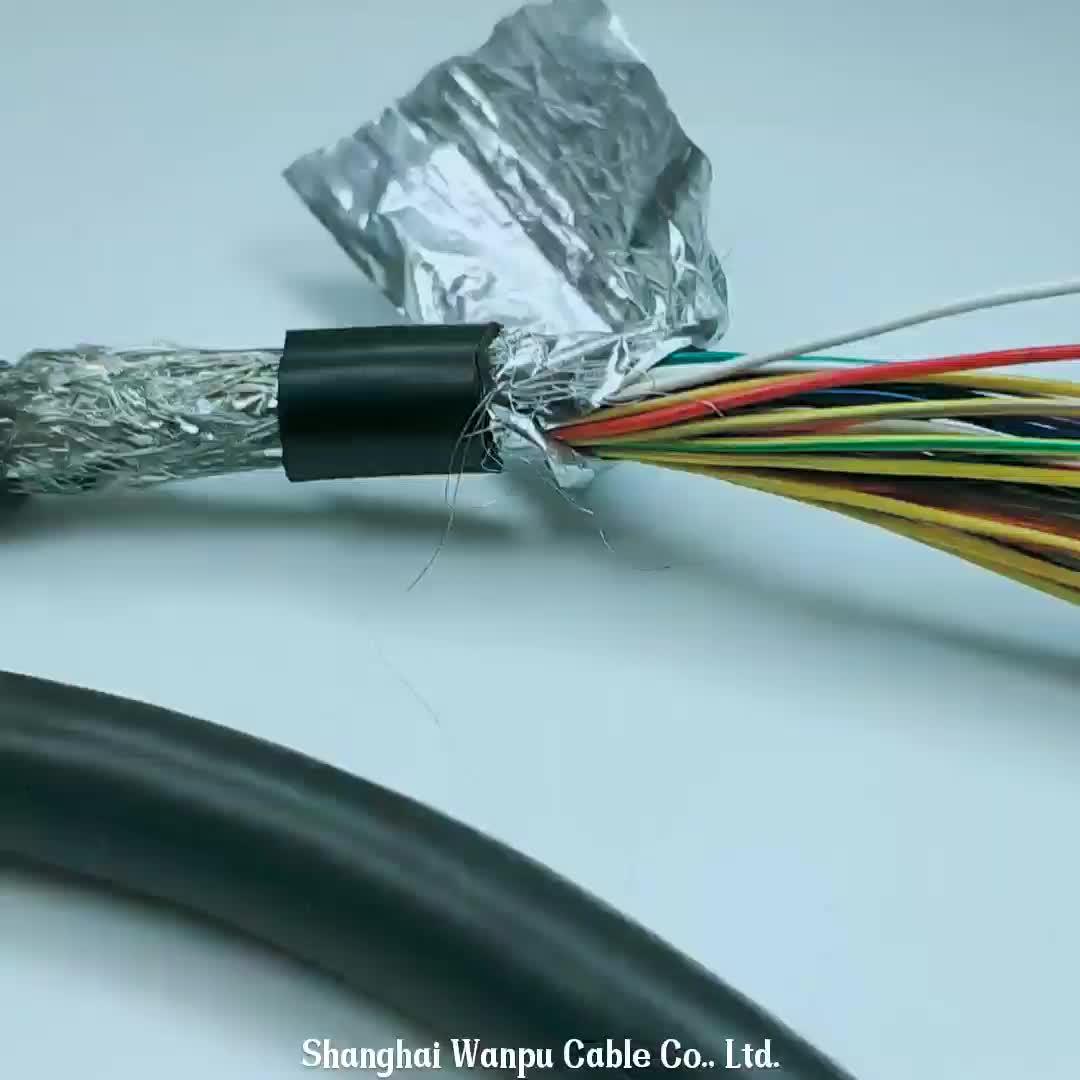Ul 2464 25awg Electric Flex Oil Resistance Copper Core Etfe ...