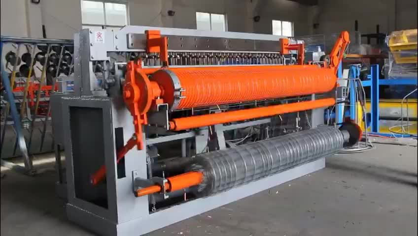 Automatic Welded Wire Mesh Making Machine Hot Sale in India