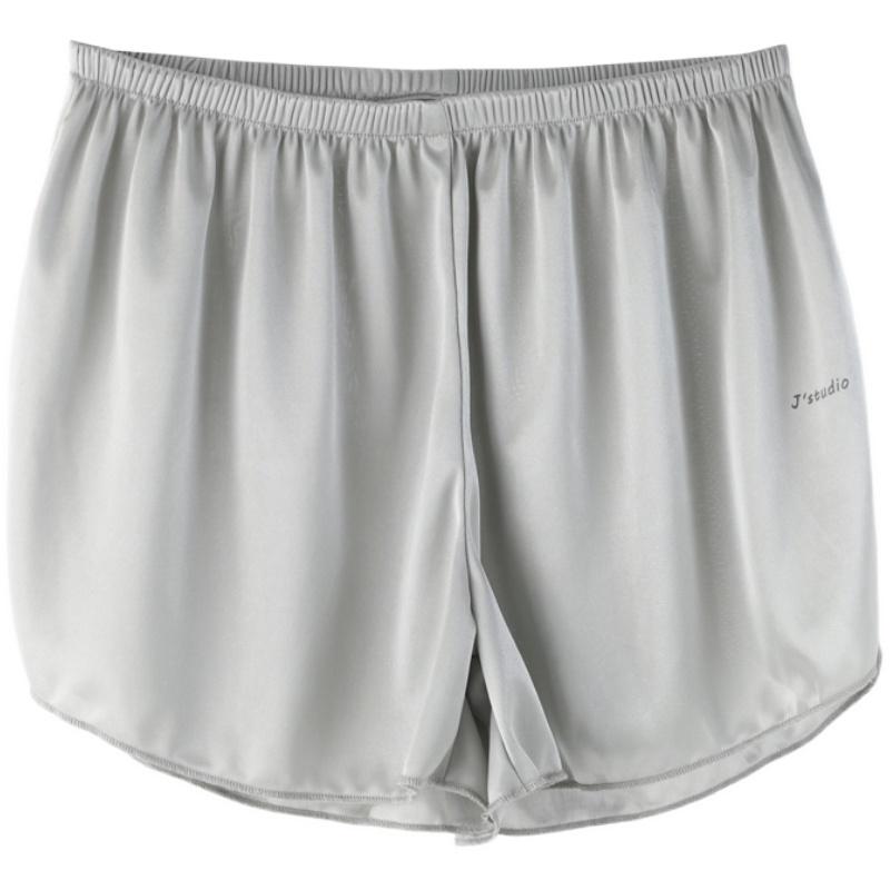 夏防走光外穿薄款丝滑宽松打底裤