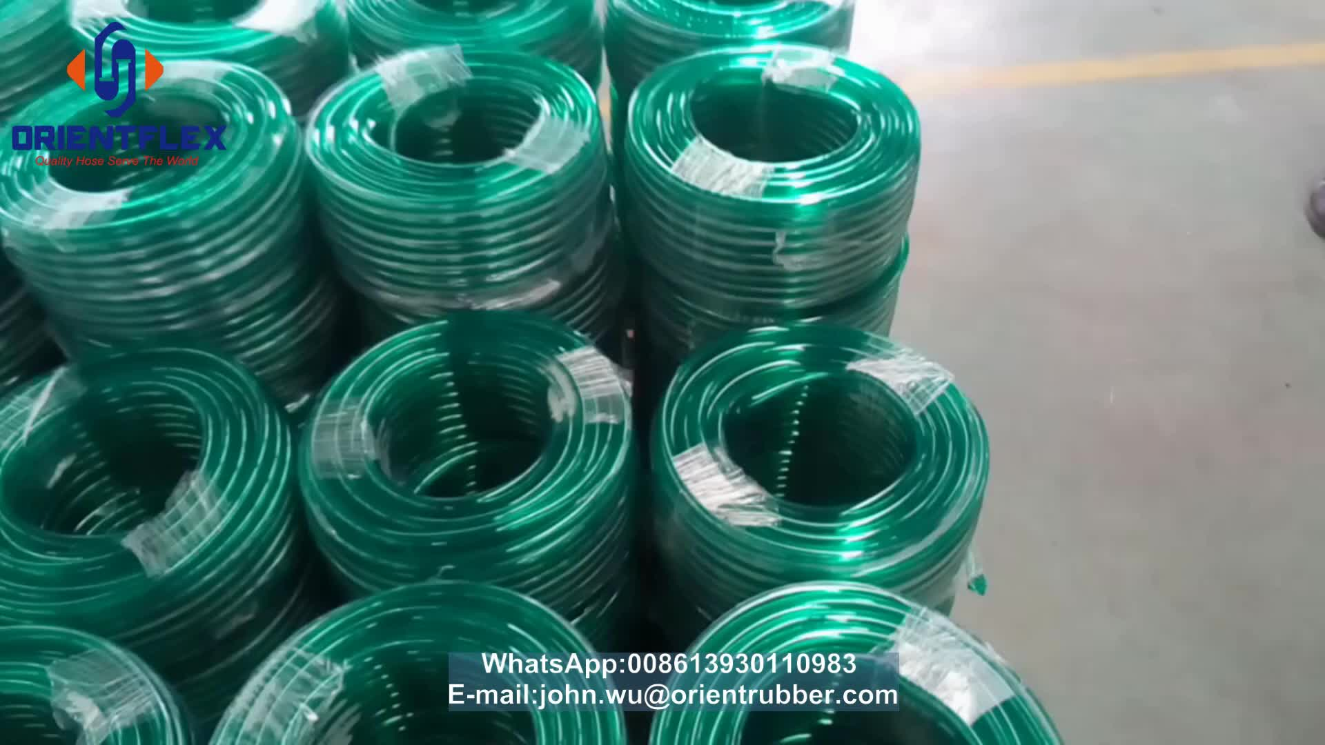 """flexible colored 8mm 5/16"""" PVC tubing transparent pipe clear hose"""