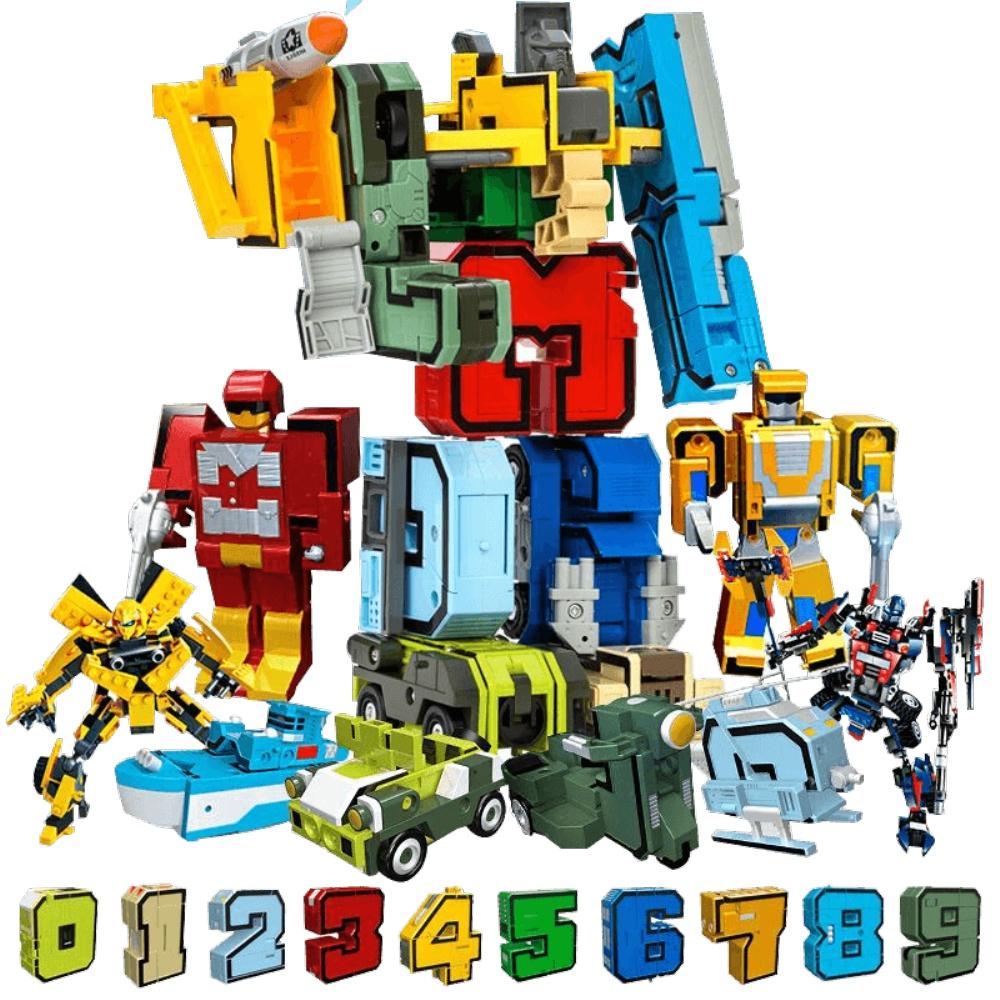 数字变形玩具汽车合体机器人金刚质量如何