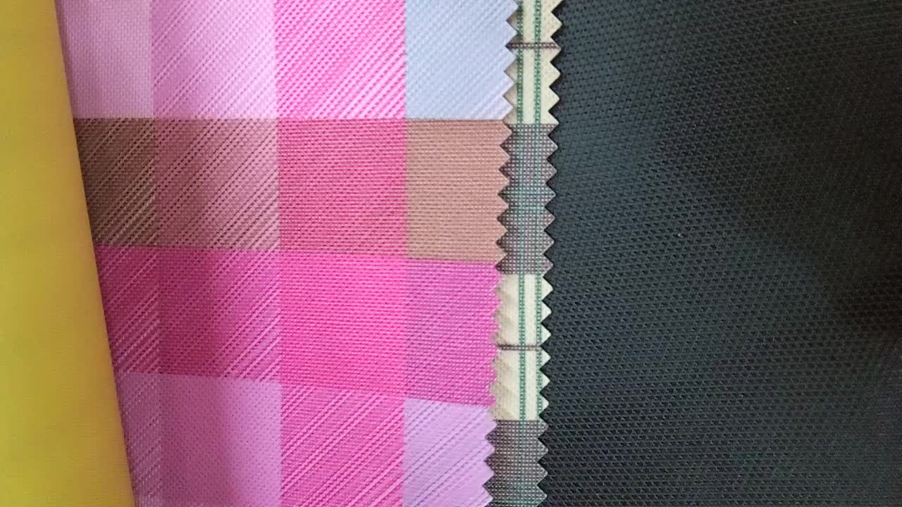 China precision fabric supplier produced 400D*500D smooth 100% polyester oxford fabric market wholesale price