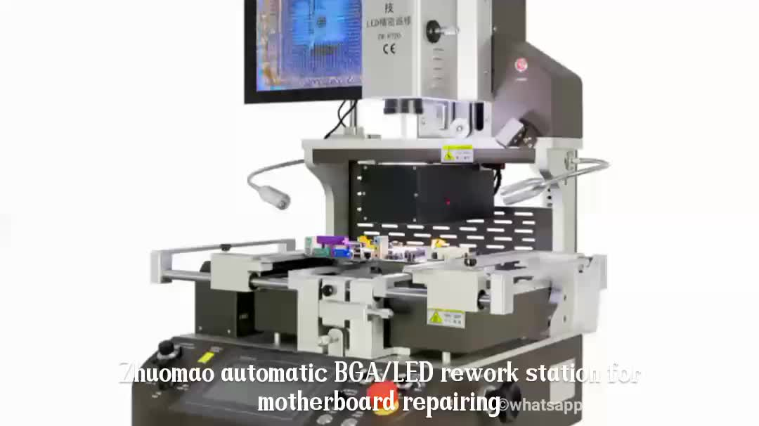 BGA rework station automatic bga machine zm r720 for iphone 6 motherboard repair smd