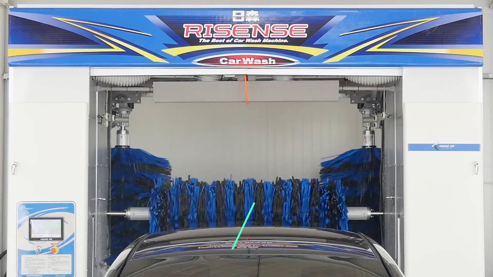 Automatic Pakistan Gentle Brush Car Wash Machine From