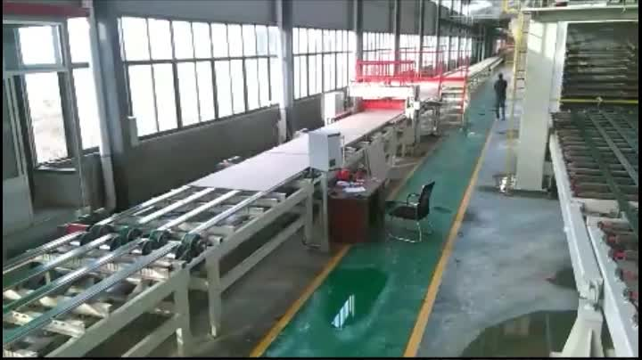 Germany type gypsum board production machine line China supplier