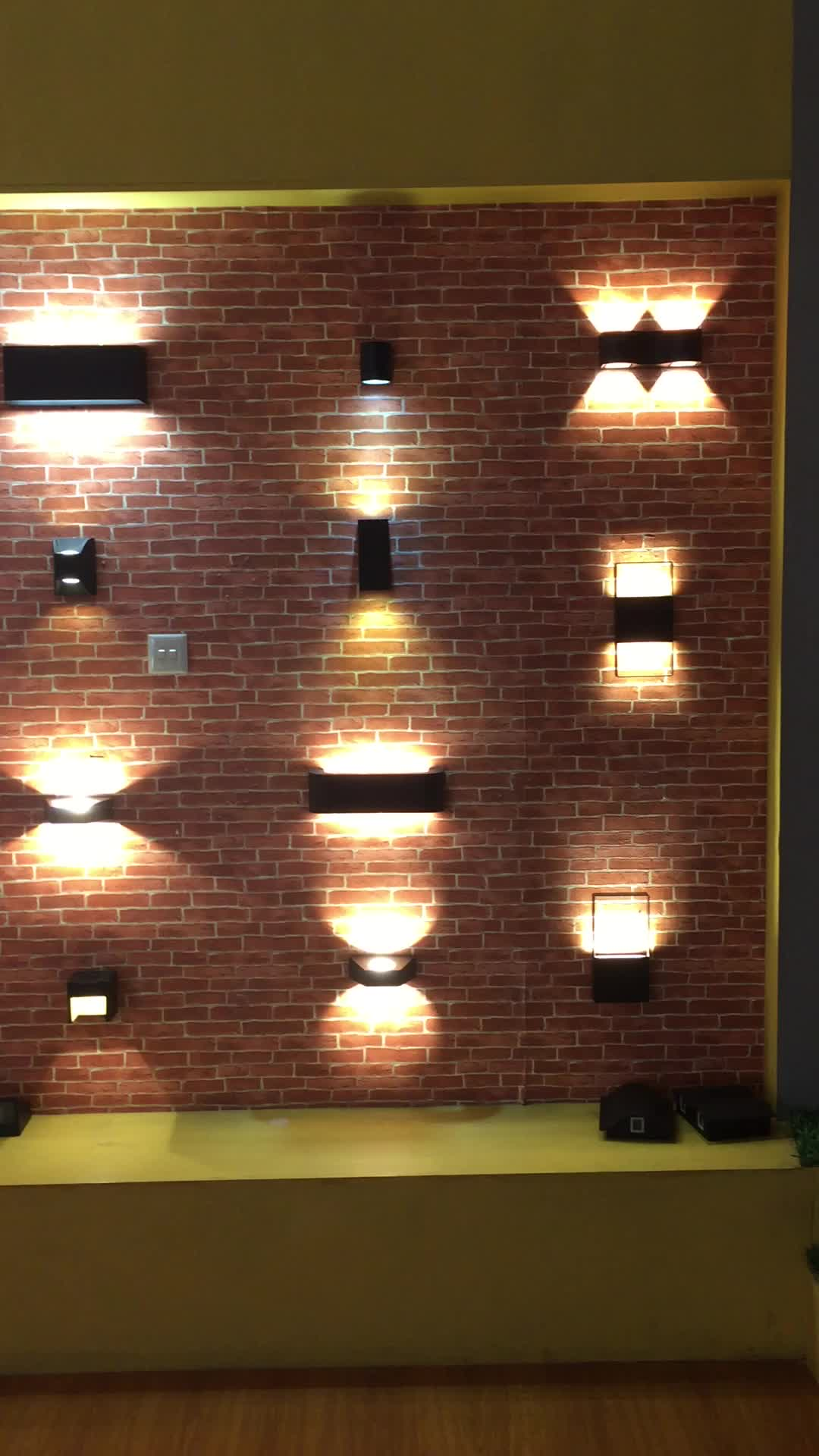 Under Eave 20w Led Wall Light Fixture