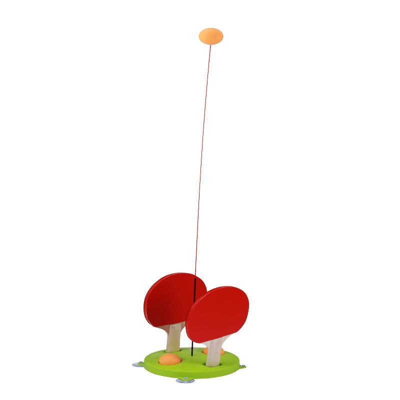 乒乓球训练器弹力软轴儿童防近视室内家用玩具网红兵兵球发泄神器