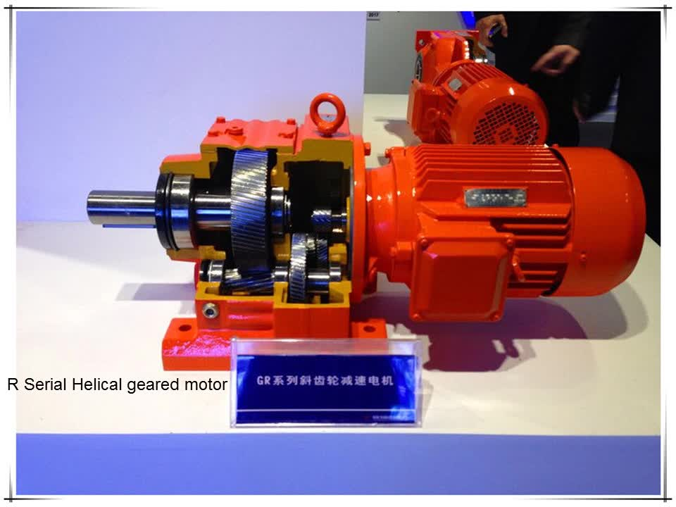 Mining Industrial Gearbox Electric Motor Speed Reducer