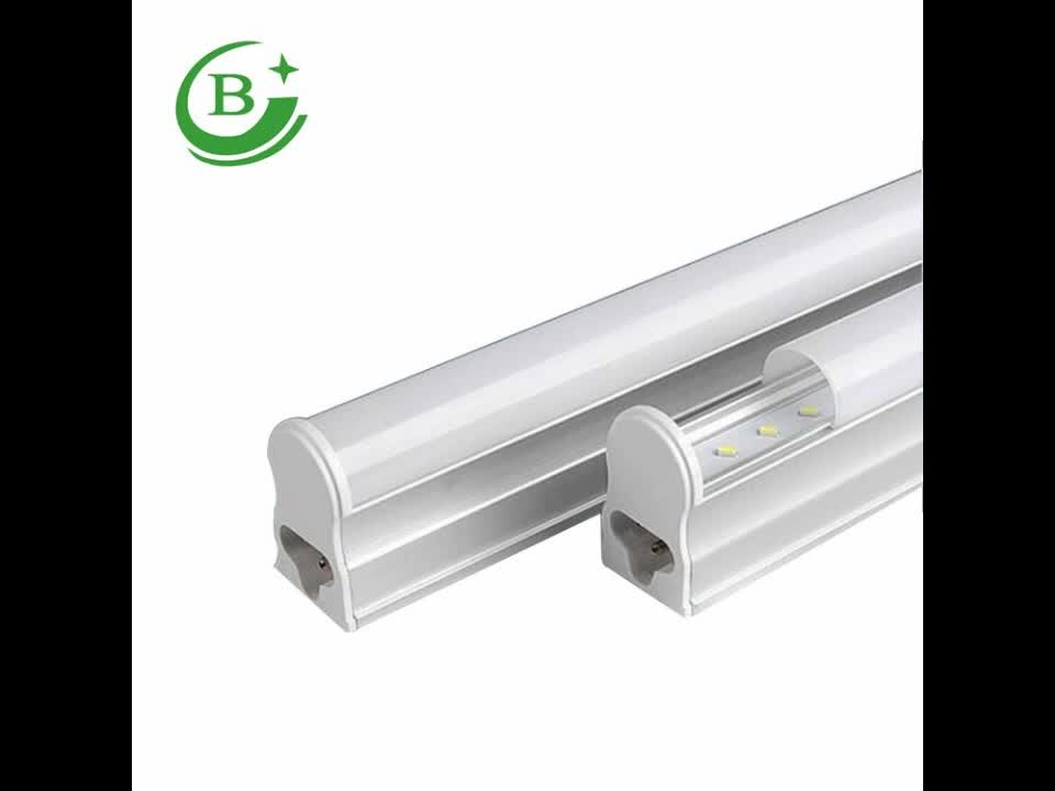 Low price high quality factory directly aluminum integrated 9w 600mm 2ft 220v t5 led tube lighting